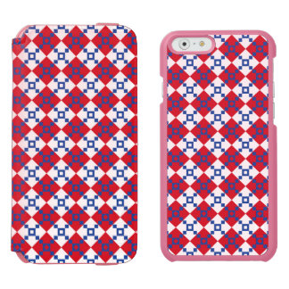 Scandinavian Christmas Pattern iPhone 6/6s Wallet Case