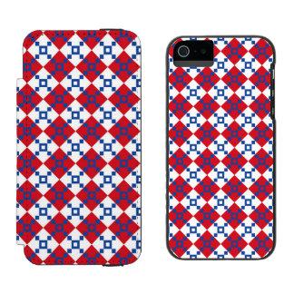 Scandinavian Christmas Pattern Wallet Case For iPhone SE/5/5s