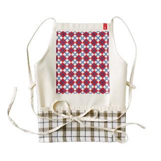 Scandinavian Christmas Pattern Zazzle HEART Apron
