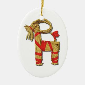 Scandinavian Christmas Straw Yule Goat Julbok Christmas Ornaments