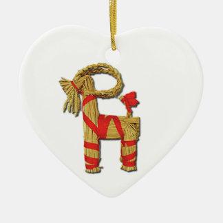 Scandinavian Christmas Straw Yule Goat Julbok Christmas Tree Ornaments