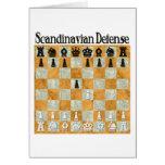 Scandinavian Defense Greeting Card