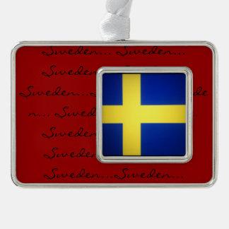 Scandinavian Flags Christmas Ornament