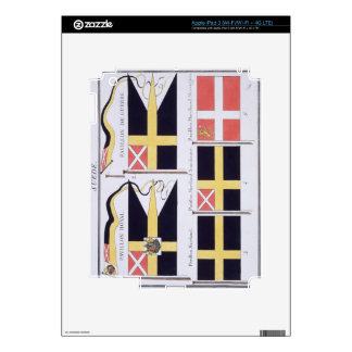 Scandinavian Flags, from a French book of Flags, c Decals For iPad 3