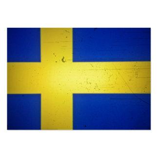 Scandinavian Flags Large Business Card