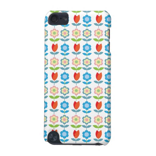 Scandinavian flowers iPod touch (5th generation) covers