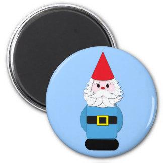 Scandinavian Gnome 2 Inch Round Magnet