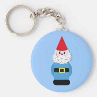 Scandinavian Gnome Basic Round Button Keychain