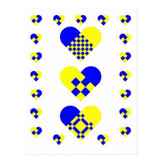 Scandinavian Heart Sweden Postcard