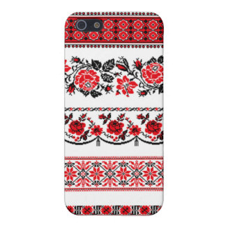 Scandinavian in Red Covers For iPhone 5