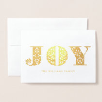Scandinavian Joy Dala Horse Photo Holiday Card
