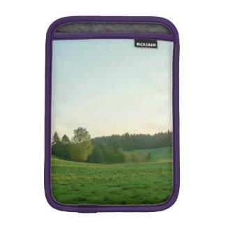 Scandinavian landscape sleeve for iPad mini
