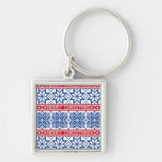 Scandinavian Merry Christmas Keychain