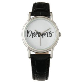 Scandinavian minimalist handwriting black watch