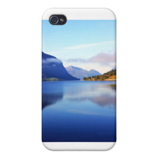Scandinavian mountains cases for iPhone 4