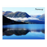 Scandinavian mountains, The North sea, taken in... Post Cards