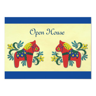 Scandinavian Open  House Party 5x7 Paper Invitation Card