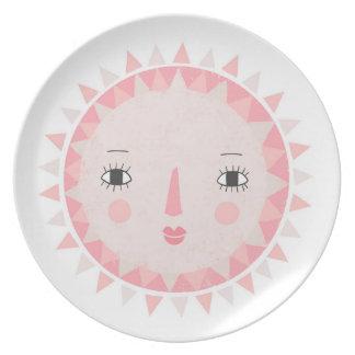 Scandinavian sun plate