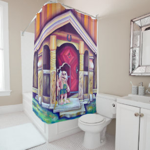 Mythical Shower Curtains