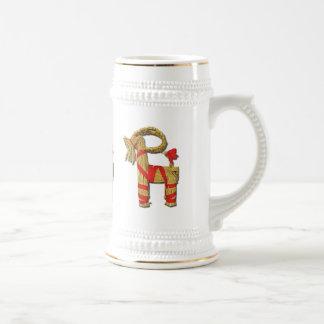 Scandinavian Yule Goat Mugs