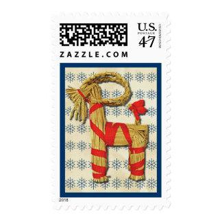 Scandinavian Yule Goat Postage