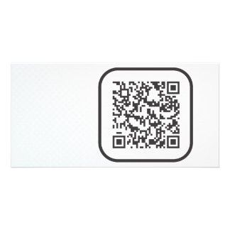 Scannable QR Bar code Card