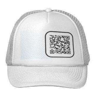 Scannable QR Bar code Hats