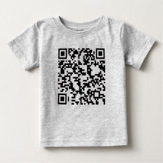 Scannable QR Bar code T Shirt