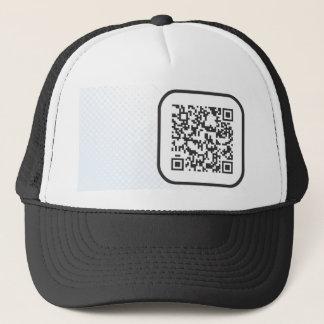 Scannable QR Bar code Trucker Hat