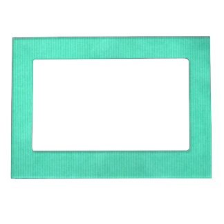 Scanned Detailed Kraft Paper Texture Turquoise Magnetic Frame