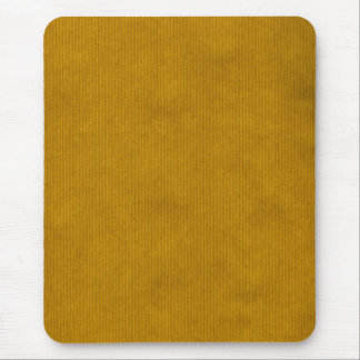 Scanned Kraft Paper Texture Strong Mustard Mouse Pad
