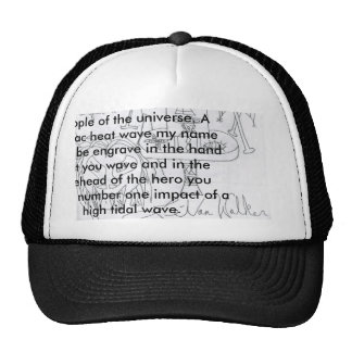 ScannedImage002, The a bright glear in the sky ... Trucker Hat