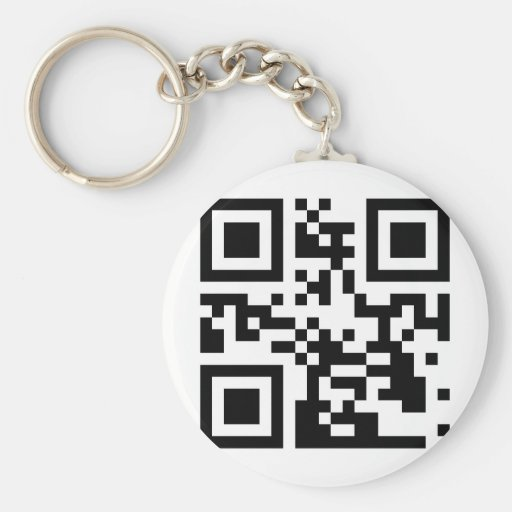 ScanToKnowMe! Basic Round Button Keychain