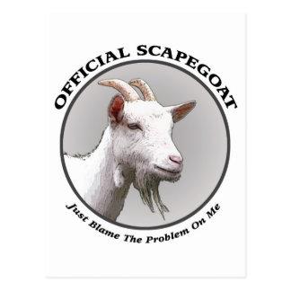 scapegoat postcard