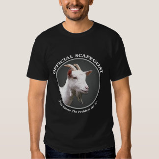 Scapegoat t-shirt (dark colors)