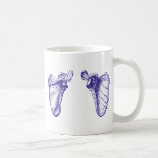 Scapula Blue Coffee Mug