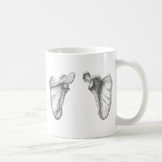 Scapula Grey Coffee Mug