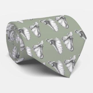 Scapula Grey Neck Tie