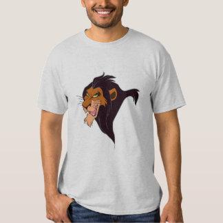 Scar Disney del león de rey Playeras