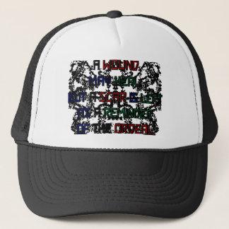 Scar Is a Reminder Trucker Hat