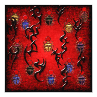 Scarab Art Card