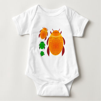 Scarab Beetle Baby Bodysuit