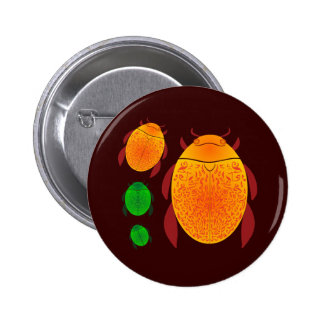 Scarab Beetle Pins