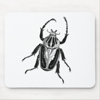 Scarab Beetle Mouse Pad