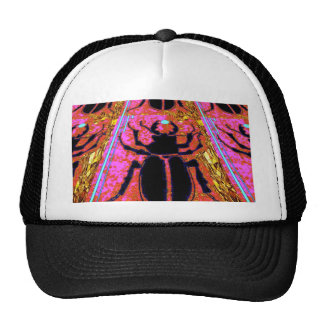 Scarab Beetle pink -Gold gifts by Sharles Hat