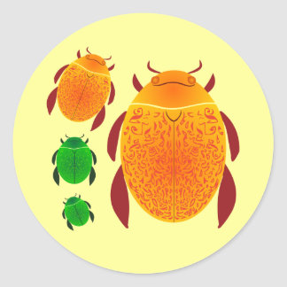 Scarab Beetle Stickers