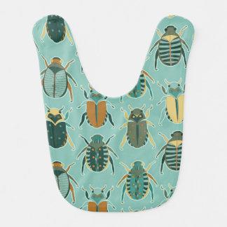 Scarab Beetles Baby Bib