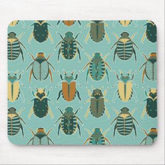 Scarab Beetles Mouse Pad