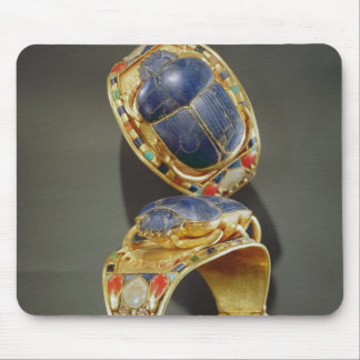 Scarab bracelet, from the Tomb of Tutankhamun Mouse Pad