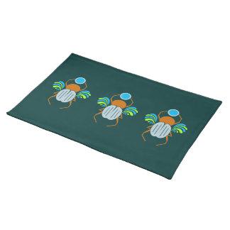 Scarab custom placemats